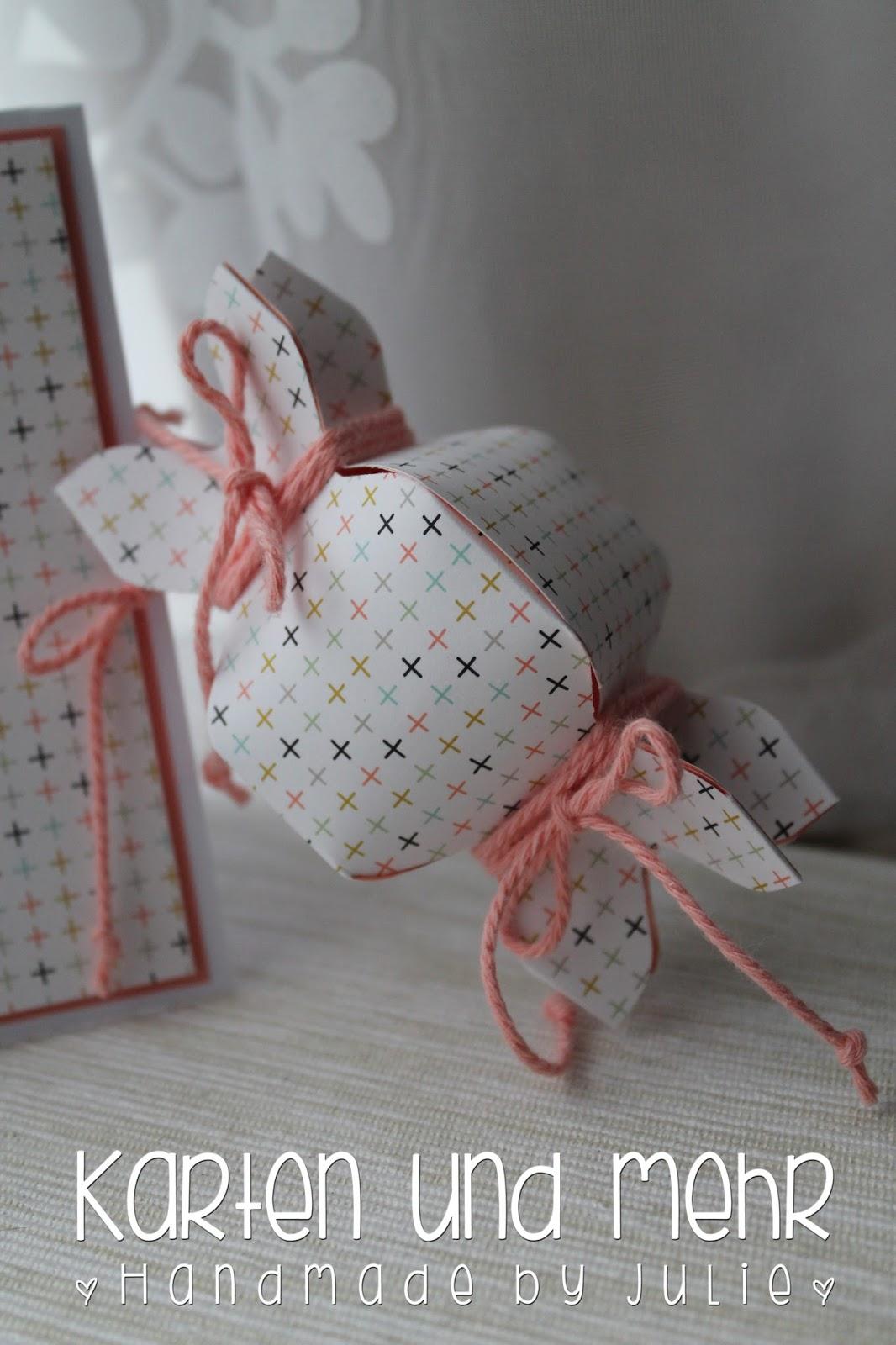 Knallbonbon aus Papier