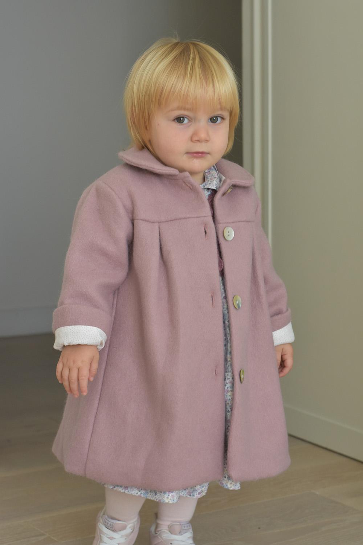 cappottino rosa lana