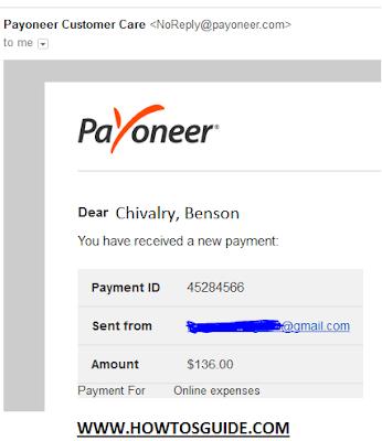 payoneer funds
