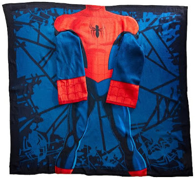 Spider-Man Comfy Throw Blanket with Sleeves
