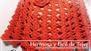 Capa hermosa y fácil de tejer / Tutorial Crochet