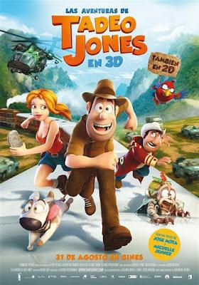 Las Aventuras De Tadeo Jones 2012 DVD R2 PAL Spanish