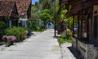 Penginapan pada pulau pisang