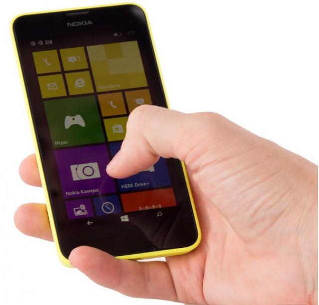 Мобильный телефон Nokia Lumia 630 DS Yellow