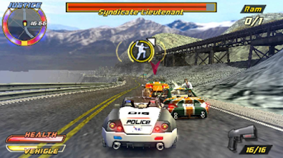 Game Pursuit Force Extreme Justice PPSSPP CSO Full Version Free Download For Android (Mod Texture)