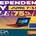 Lazada Independence Day sale 2016 is here!!
