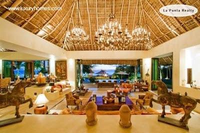 Arquitectura de casas casas residencias villas y for Interiores de casas de lujo
