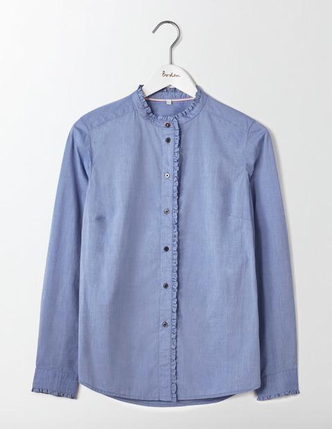 Boden Virginie Ruffle Shirt
