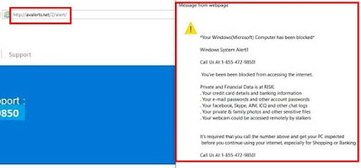 Computer Issues Center: How to Remove Http://valerts.net/2/alert
