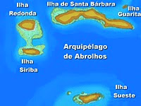 Blog de viagem e Mapa de Abrolhos - Brasil Mergulho