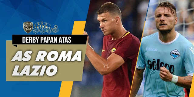 Prediksi Bola : AS Roma Vs Lazio , Minggu 19 November 2017 Pukul 00.00 WIB