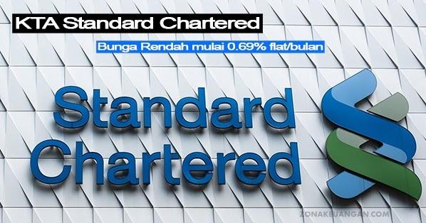 Syarat Pengajuan Kta Standard Chartered Zonakeuangan Com