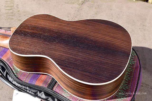 Ohana BK-70 Baritone ukulele back