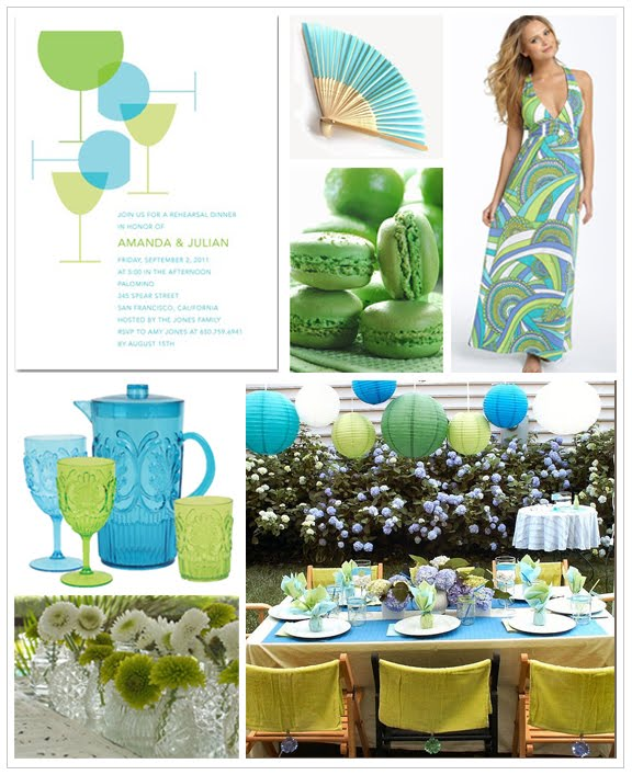 Lime Green Wedding Ideas: Wedding Style: A Turquoise And Lime Green