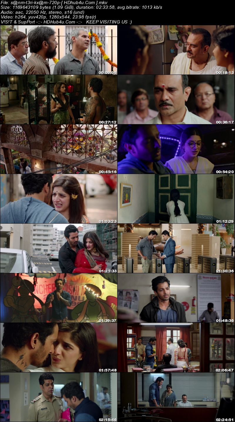 Sanam Teri Kasam 2016 Hindi Movie 480p HDRip 400MB Download