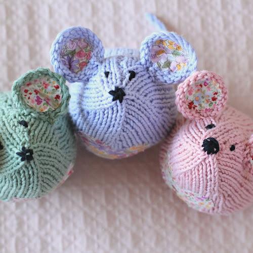 Tea Mouse Knit Along Come Join Say Little Hen