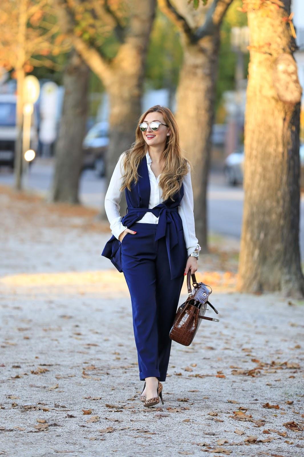 Blogger-Fashionblogger-Streetsylelook-Streetstyleblogger-Fashionstylebyjohanna-Olivia Palermo Style -Business look- Casual Look- Chic Look -Picard Tasche -Tasche Kroko-Kroko Tasche