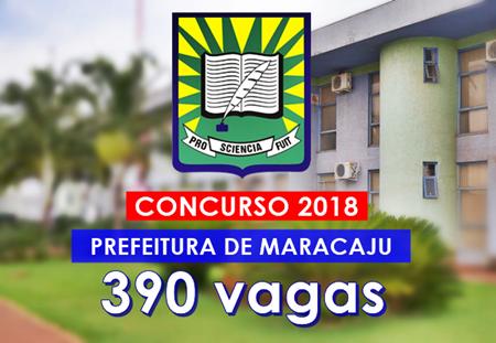 Concurso Prefeitura de Maracaju 2018