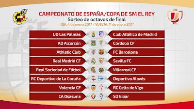 octavos copa 2017