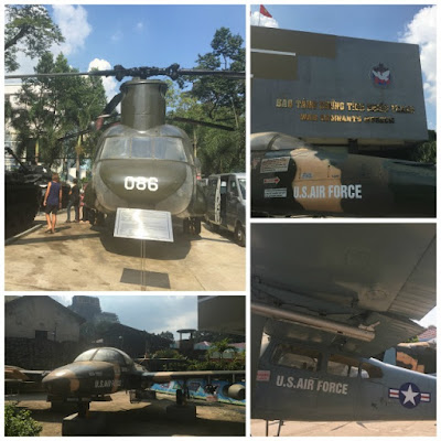 War Remnants Museum in Ho Chi Minh City Vietnam