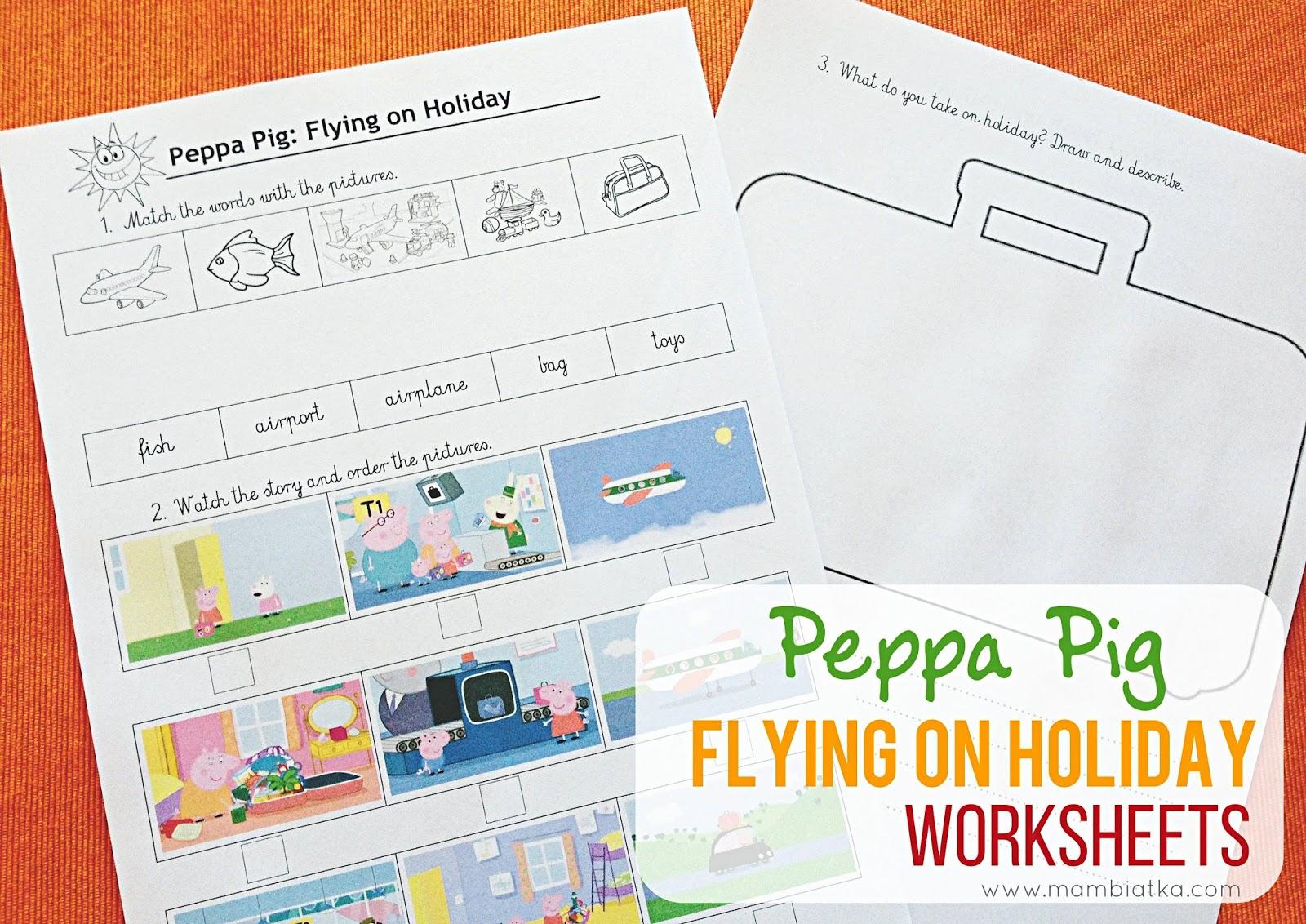 Friday Freebie: Peppa Pig Printables
