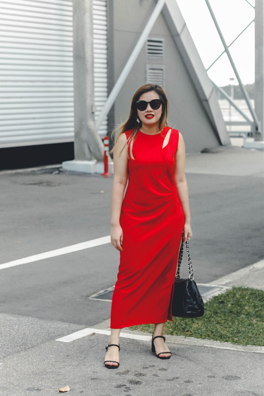 singapore blogger style look book street stylist fashion photographer photography red what to wear