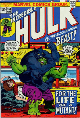 Incredible Hulk 161, the Beast and the Mimic