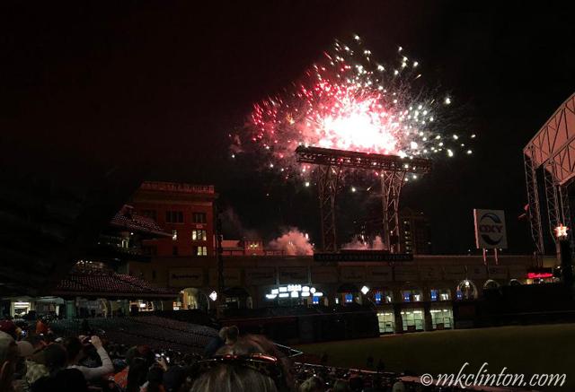 Minute Maid Park fireworks