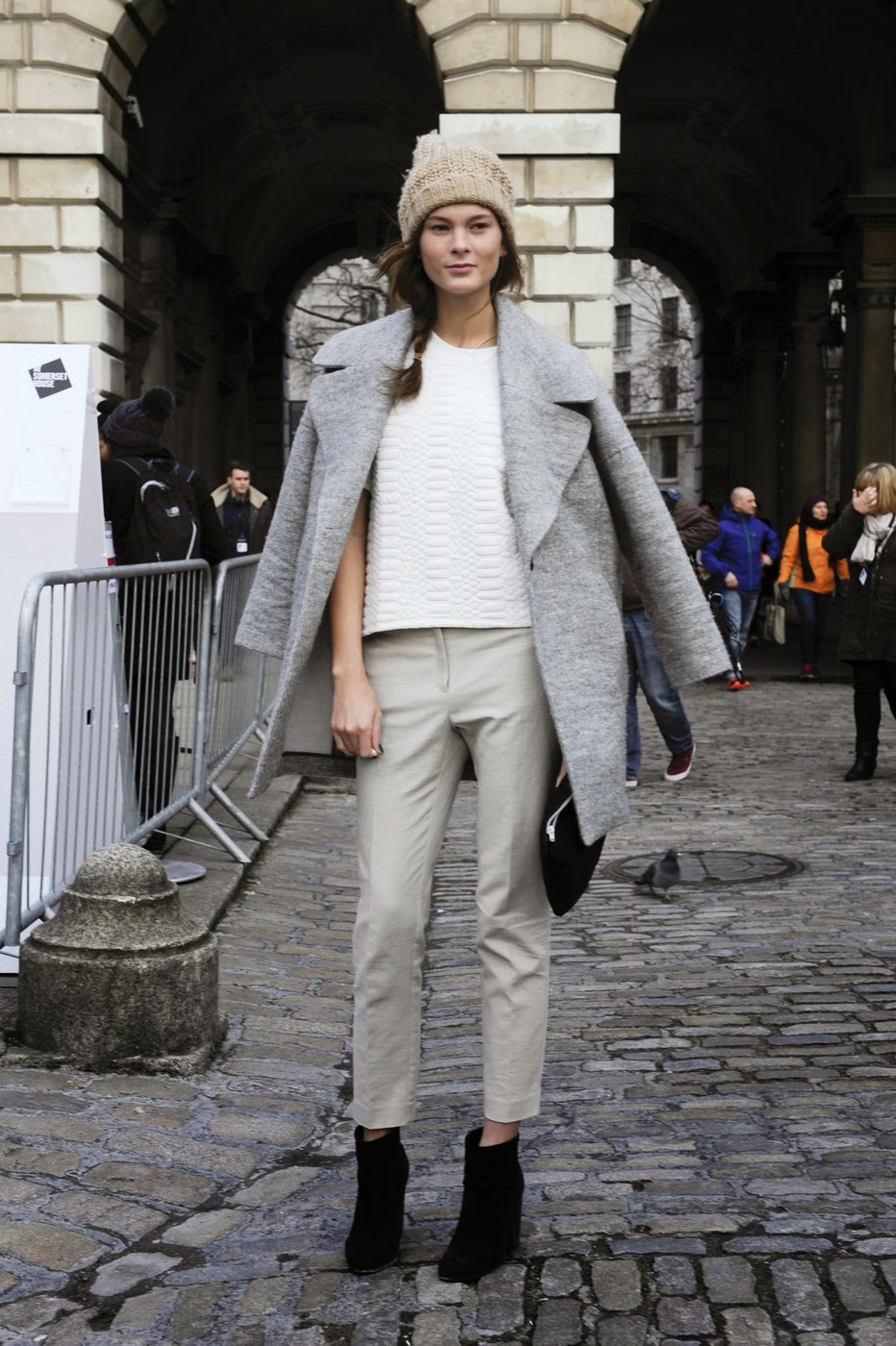 Model Street Style London Fashion Week A W 2014 Part 1