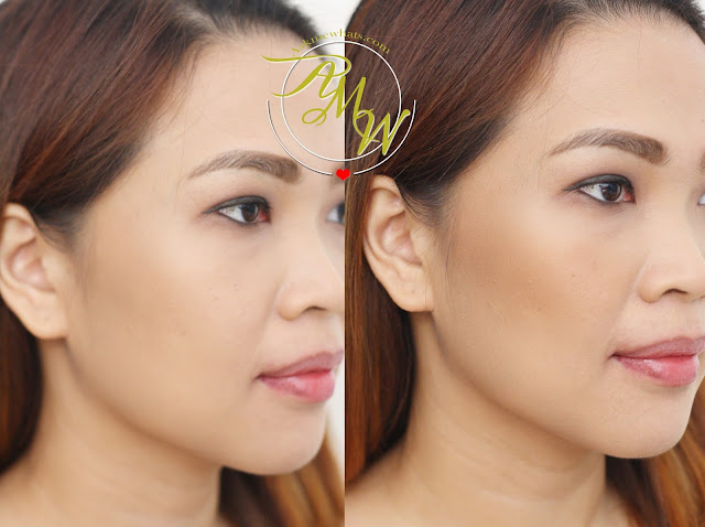 before and after photo of SAEM Saemmul Luminous Multi-Shading
