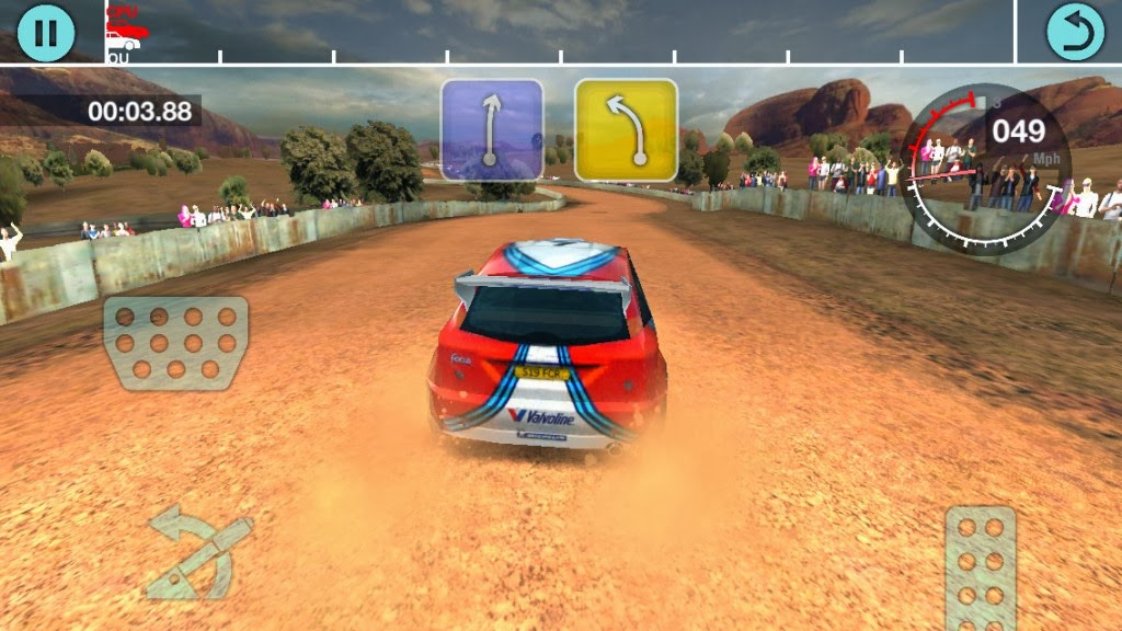 game android Colin McRae Rally V.102 Apk + Data Full For Android