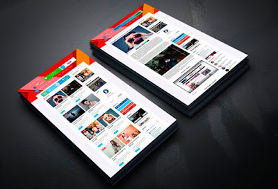 download template blogger amp touch