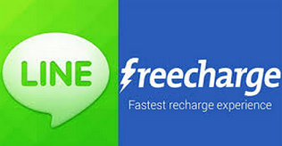 Recharge with Rs.20 & Get Rs.50 Freecharge Credits [Freecharge + Line]