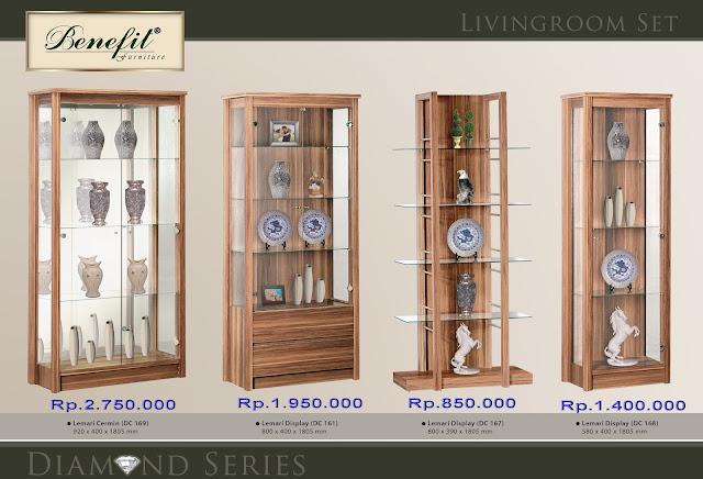 Furniture Minimalis Lemari Hias Minimalis Benefit Series