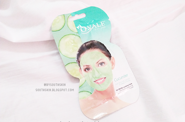 ovale-facial-mask-cucumber-review