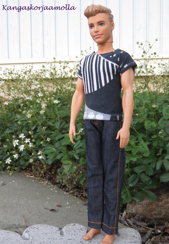ompele Kenin vaatteet