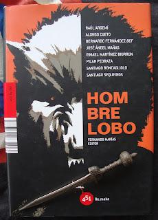 Portada del libro Hombre lobo, de varios autores