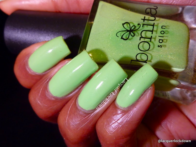 Lacquer Lockdown - Bonita nail polish, Bonita Pear Me Up
