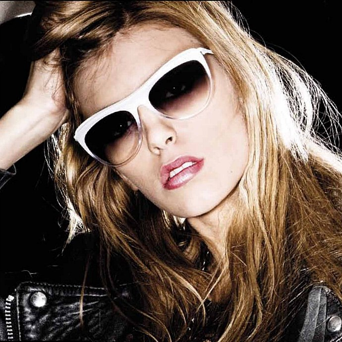16702f9b99 It s good to see an eyewear designer that s neither afraid of mixing  contemporary with classic