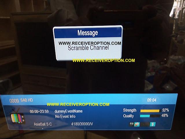 STAR TRECK 5000 SUPER HD RECEIVER POWERVU KEY OPTION