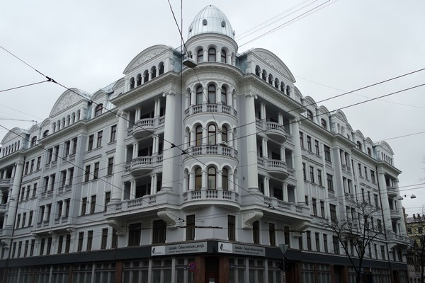 riga corner house KGB musée