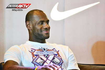 Lebron James Press Conference, Manila, Philippines