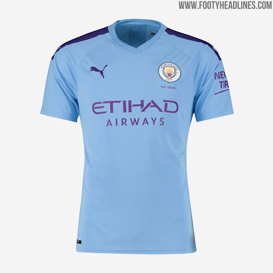 ca1311a01 Puma Manchester City 19-20 Home & Away Kits Released + Third ...