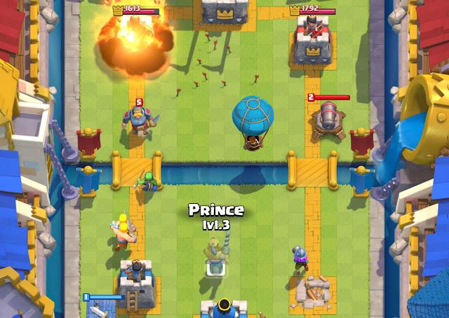 Nguyên tắc cơ bản khi tấn công và phòng thủ trong Clash Royale 1