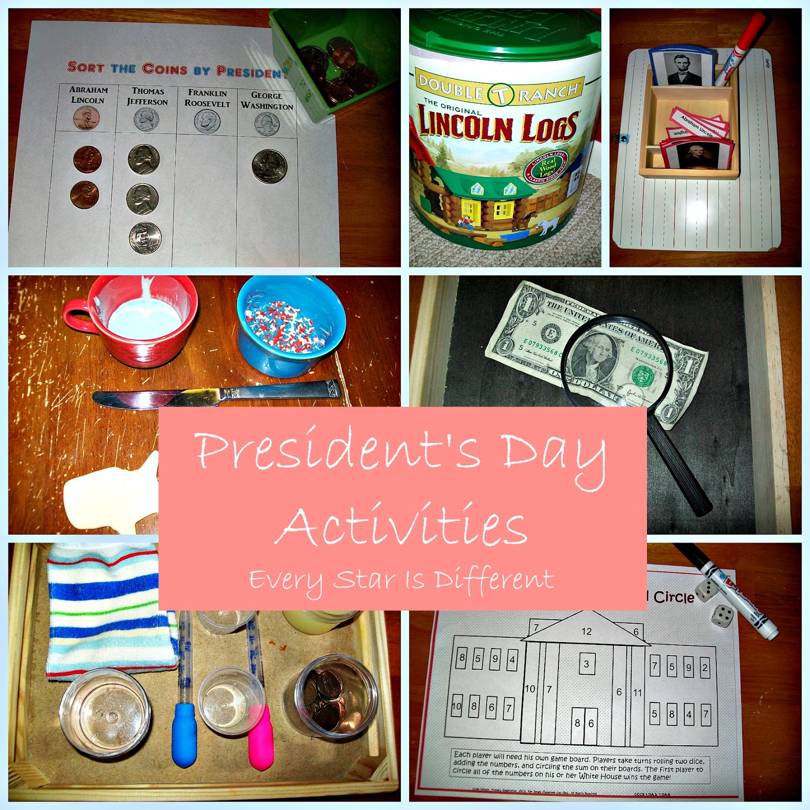 Every Star Is Different President S Day Activities Amp Free Printables