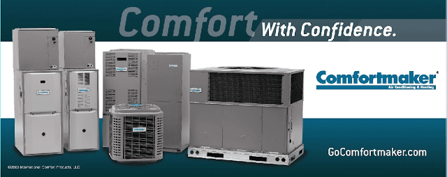 Comfortmaker ad slick with James Heating Cooling And More Plymouth Rochester Indiana