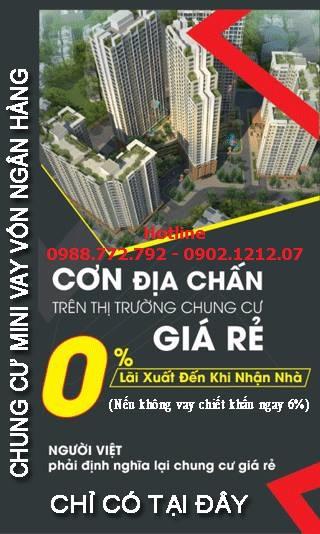 Bán chung cư mini Hà Nội có Sổ Đỏ giá rẻ cho vay ngân hàng