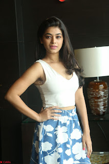 Yamini in Short Mini Skirt and Crop Sleeveless White Top 145.JPG
