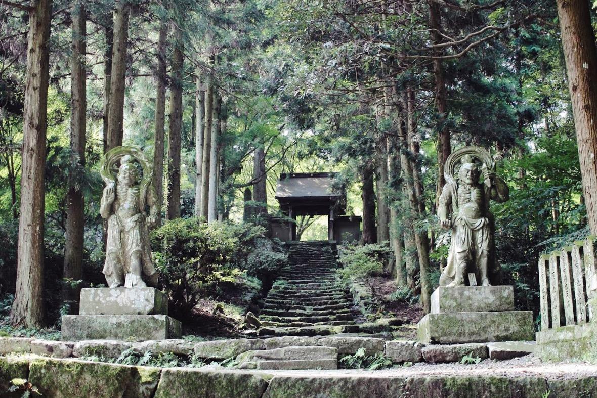 國東半島 兩子寺