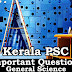 Kerala PSC - Important and Expected General Science Questions - 24